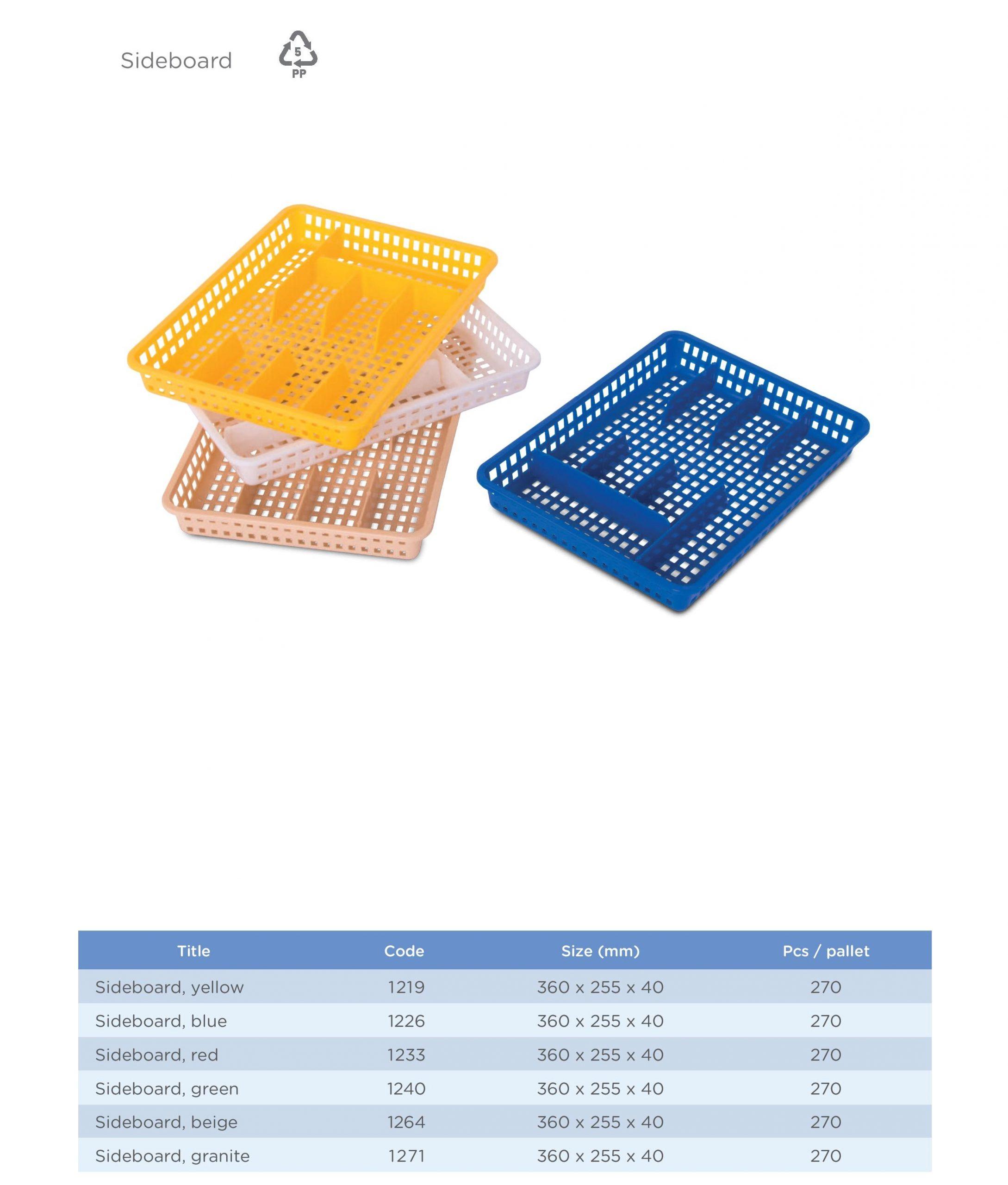 Příborník Averium Plastics