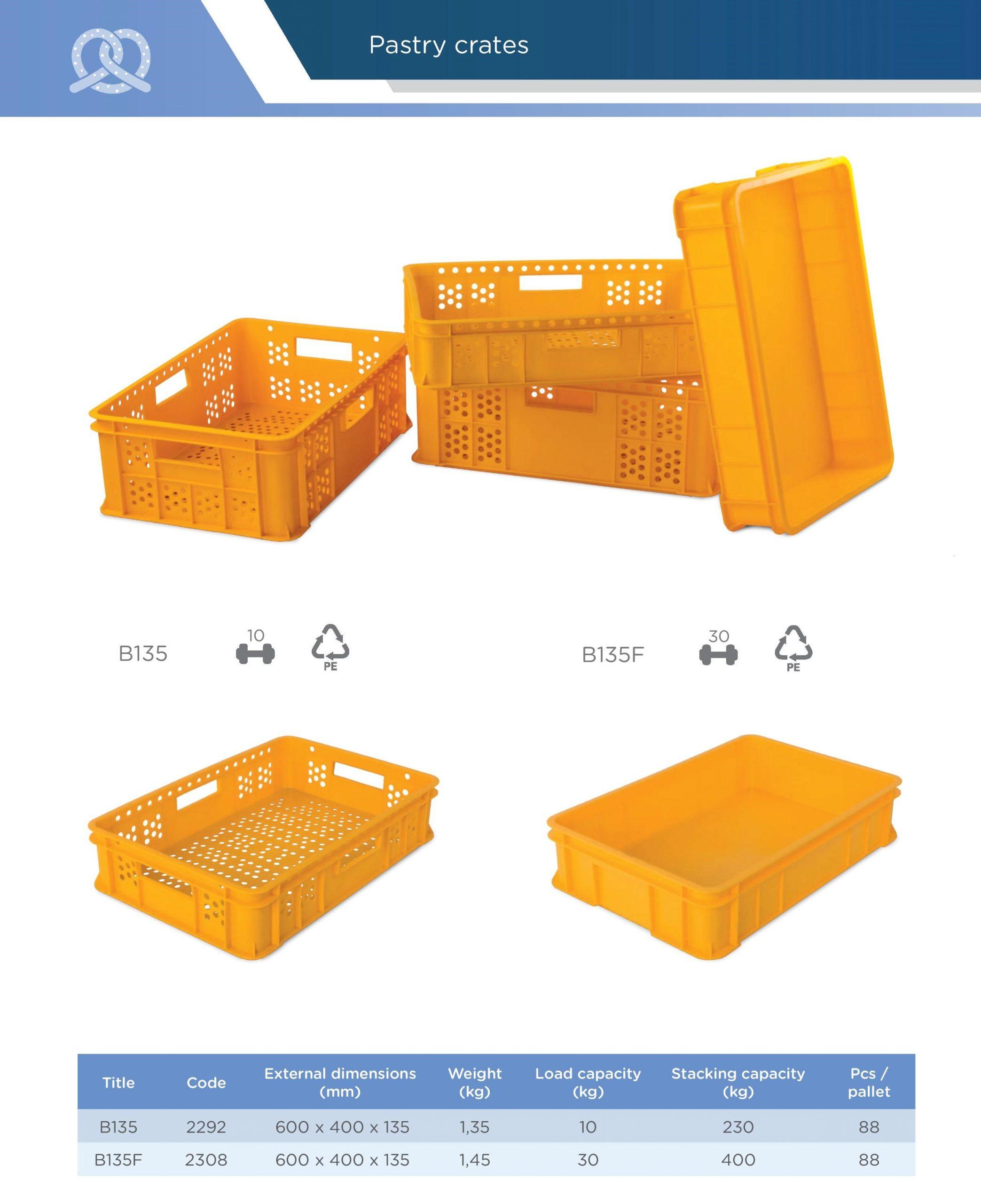 Přepravka na pečivo Averium Plastics
